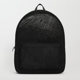 polygon wings // black and white Backpack