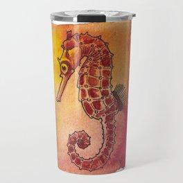 Sea Horse 1 Travel Mug
