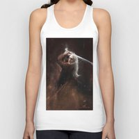 thranduil Tank Tops featuring Thranduil by LucioL