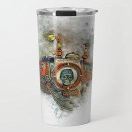 Steampunk Fish Travel Mug