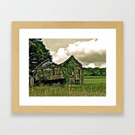 Better Days Gone By Framed Art Print