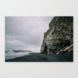 Reynisfjara Beach Cave Canvas Print