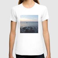 edinburgh T-shirts featuring Kayaker Leith Edinburgh by RMK Photography