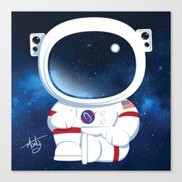 Astro Buddha  Canvas Print
