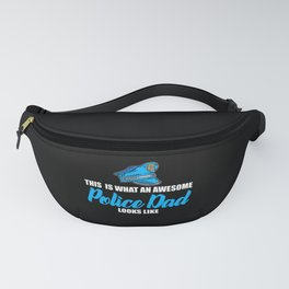 awesome police dad Fanny Pack