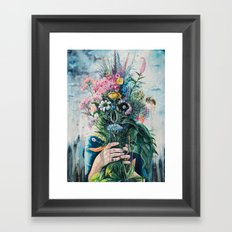 The Last Flowers Framed Art Print