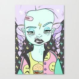 Azalea is Hungover Canvas Print