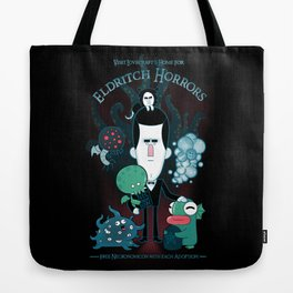 Lovecraft's Home for Eldritch Horrors Tote Bag