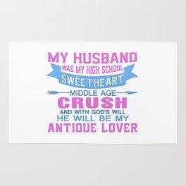My Husband Was My High School Sweetheart Rug