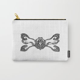 Girls Crossed Hair Carry-All Pouch