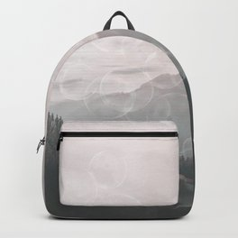 Dreamy Outdoor Mountain Landscape Backpack