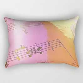 Theres no doubt Rectangular Pillow