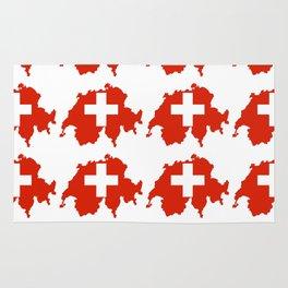 flag Switzerland 3-,Swiss,Schweizer, Suisse,Helvetic,zurich,geneva,bern,godard,heidi Rug