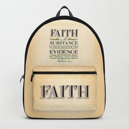 The Substance of Things Hoped for . . . Backpack