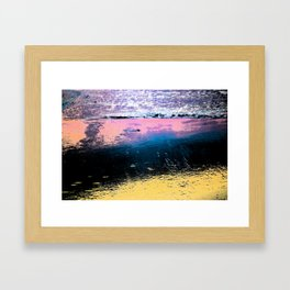 Colors of the Ocean Framed Art Print