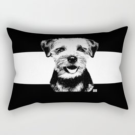 Border Terrior Rectangular Pillow