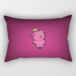 Pink Dead Bear Rectangular Pillow