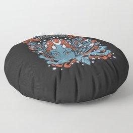 URANIA Per Aspera Ad Astra Floor Pillow