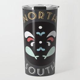 North and South Travel Mug