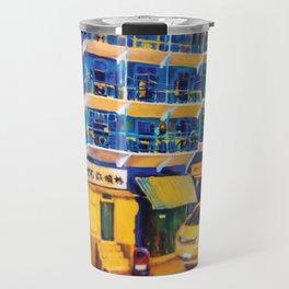 blue house (hong kong) Travel Mug