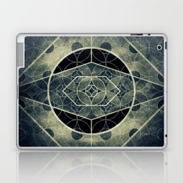 Sacred Geometry for your daily life -  SATURN EYE Laptop & iPad Skin
