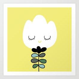 simply flower Art Print
