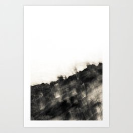 Ragged Line of Sea and Coast Art Print