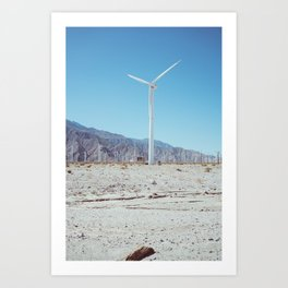 Palm Springs Windmills III Art Print