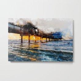 Pier 60, Clearwater Beach Metal Print