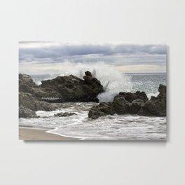 Point Mugu surf Metal Print