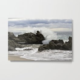 Point Mugu surf Metal Print