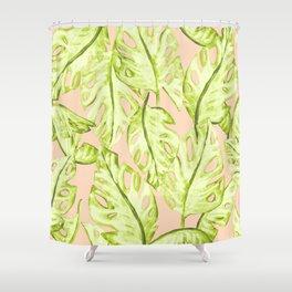 Pastel Jungle Shower Curtain