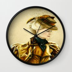 Edith Cushing Wall Clock