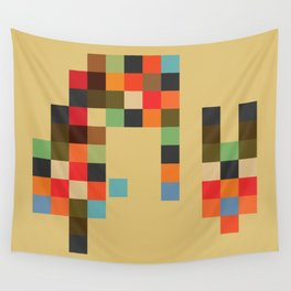 Mid Century Textile Series 1_2 Wall Tapestry