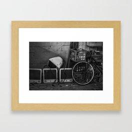 Yesterday's technology, today. (Blender Lane, 2013) Framed Art Print