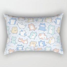 Kitty Dance Off! Rectangular Pillow