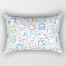 Kitty Dance Off! Rectangular Pillow