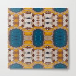 New Color Pyramidal Mandala 73 - Pattern 1 Metal Print