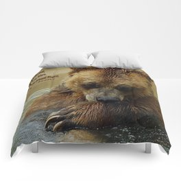 In Deep Thought   - Grizzly Bear Comforters
