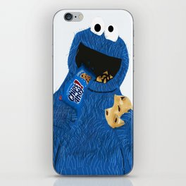 Cookie Monster iPhone Skin