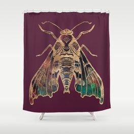 Sphinx Moth Shower Curtain