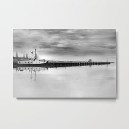 Steady Waters Metal Print