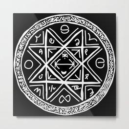Octogram Sigil 1 Metal Print