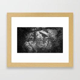 Rain, beautiful rain. Framed Art Print