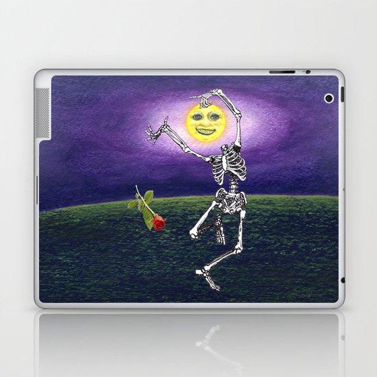 Skeleton Moon Laptop & iPad Skin