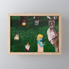 Ephemeral Innocence Woodland Nature Art Framed Mini Art Print