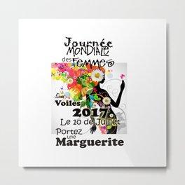 Chandail pour Promotion Femmes Sans Voiles Metal Print