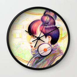 Sweet Dj Wall Clock