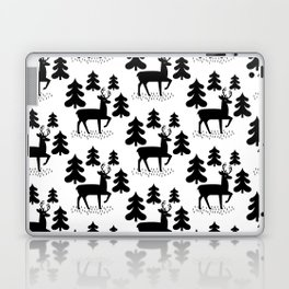 Deer In The Forest Pattern Laptop & iPad Skin