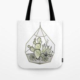 Succulent Terrarium Tote Bag
